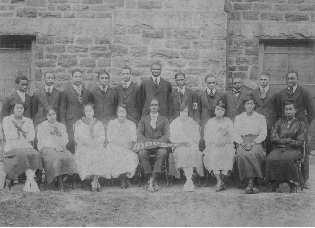 Morgan College, 1917 (Addie Jane Johnson, front, 3rd from left)